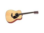 Yamaha FG720S Folk Acoustic Guitar, Natural