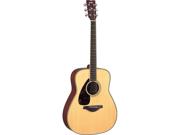 Yamaha FG720S Left-Handed Folk Guitar in Natural