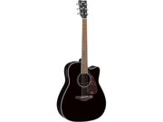 Yamaha FGX730SC Acoustic/Electric Guitar in Black