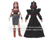 Doctor Who Leela and Sutekh Action Figures 9SIA0420NE9362
