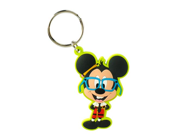 Mickey Mouse Disney Nerds Soft Touch Key Chain