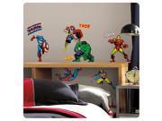 Marvel Classics Superheroes Peel and Stick Wall Decals 9SIA62V2M97618