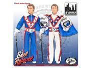 Evel Knievel 8-Inch Action Figure Set 9SIAD245DU0223