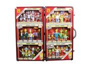 The Simpsons 25th Anniversary Bendable Figures Mega Set 9SIAD245E04183
