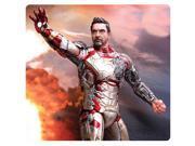 Iron Man 3 Mark 42 Battle Damage 1:9 Pre-Assembled Model Kit