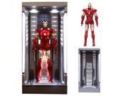 Iron Man 3 Mark 7 w/ Lighted Hall of Armor AHV Model Kit