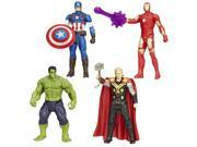Avengers All-Star Action Figures Wave 1 Set 9SIA0422MW2525
