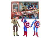 Captain America LE 8-Inch Retro Action Figure Set 9SIA0422TW2753