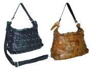 Amerileather Miao Leather Handbag (#1708-03)