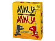 Your Ninjas must defend the honor of their dojo against a rival dojo. Victory hinges on eliminating Ninjas and skillfully venturing into the opponent's dojo. But how far do your Ninjas dare to go... and will they return? Every move is critical as you position your Ninjas for defense and ready them for the attack. Prove yourself to be a worthy master with Ninja versus Ninja! Type: Board Games Gender: Unisex Age: Child,Teen,Adult