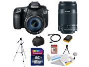 Canon EOS 60D 18 MP CMOS Digital SLR Camera with 3.0-Inch LCD and EF-S 18-200mm f/3.5-5.6 IS Standard Zoom Lens + EF-S 55-250mm f/4.0-5.6 IS Telephoto Zoom Lens