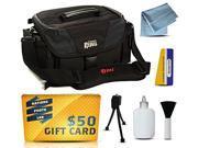 Canon EOS Rebel Deluxe DSLR SLR Gadget Bag Shoulder Travel Case for Canon 1D 1Ds 1Dc 1DM2 1DM3 1DM4 5D Mark II III 2 3 4 IV 5DM2 5DM3 6D 7D 10D 20D 20Da 30D 40D 50D 60D 60Da 70D Digital Camera