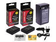 3 Pcs EN-EL14 ENEL14 Battery Packs + Travel Charger for Nikon DSLR D5300 D5200 D5100 D3300 D3200 D3100 Df Coolpix P7100 P7000 P7700 P7800 Digital Camera