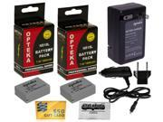 2 Pc NB-10L Battery Pack + Rapid Travel Charger for CANON PowerShot SX50 SX40 HS G1X G15 G16 NB10L NB 10L 5668B001