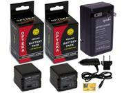 Two VW-VBG260 VBG260 Battery + Charger for Panasonic Camcorder HDC SDR VDR AG PV AC7 HMC40 HMC70 HMC150 HS100 HS20 HS200 TM700K TM300 TM20S SDT750K SX5 SD700K SD700 SD600 SD9 H90K H80R H80A H80K H80S