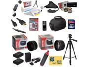 47th Street Photo Ultimate Accessory Kit for the Nikon D50, D70, D80, D90 - Kit Includes: 64GB High-Speed SDXC Card + Card Reader + 2 Extended Life Batteries +
