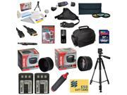Ultimate Kit for Canon XT XTI Includes 64GB SDXC Card + 2 Batteries + Charger + 0.43x + 2.2x Lens + 3 Piece Filters + Gadget Bag +Tripod + Strap + Lens Pen + Cleaning Kit + DSLR DVD + $50 Gift Card