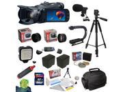 Canon VIXIA HF G30 Full HD Camcorder plus Ultimate Accessory Kit: 64GB High-Speed SDHC Card + 58MM 3 Piece Pro Filter Kit (UV, CPL, FLD) + 0.43x HD II Wide Angl