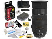 Sigma 50-500mm f/4.5-6.3 APO DG OS HSM Lens (738306) With 3 Year Extended Lens Warranty for the Nikon D700 D300S D300 D200 D100 D90 D80 D70 D70s D50 DSLR Camera