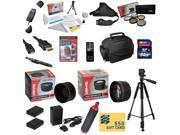 47th Street Photo Ultimate Accessory Kit for the Nikon D7000, D7100 - Kit Includes: 64GB High-Speed SDXC Card + Card Reader + 2 Extended Life Batteries + Travel
