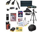 Must Have Kit for Canon 6D 7D 7DSV 60D 60Da 70D 5D Mark II 5D Mark III Includes 32GB SDHC Card + Battery + Charger + 3 Piece Filters + Gadget Bag + Remote +Tripod +Strap + Cleaning Kit + $50 Gift Card