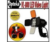 Opteka VL-800 Ultra High Power LED Camcorder Video Light Kit for Canon GL2, GL1, XL2, H1S, H1A, XF305, XF300, G1S and A1S