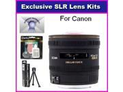Sigma 4.5mm f/2.8 EX DC HSM Circular Fisheye Lens with 7 Year Warranty For Canon Canon EOS 60D, 60Da, 50D, 7D, 5D, T5i, T4i, T3i, T3, T2i and SL1 Digital SLR Ca