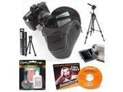 Opteka Essential Accessory Kit for Pentax K-30, K-5, K10D, K100D, K110D, & K1000 Digital SLR Camera