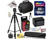Best Value Accessory Kit for Sony MC50, NX30, NX70, TD10, TD20, TD30, HC9, VG10, VG20, VG900, AX100 Video Camera Camcorder Includes - 16GB High-Speed SDHC Card