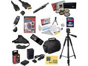 Must Have Kit for Nikon D5300 32GB SDHC Card, Card Reader, Battery, Charger, 67MM 5 Piece Pro Filter Kit, HDMI Cable, Gadget Bag, Remote Control, Tripod, Lens Pen, Cleaning Kit, $50 Gift Card