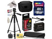 "Best Value Accessory Kit for Panasonic Lumix DMC-FZ200 Digital Camera Includes 16GB Memory Card + Card Reader + DMW-BLC12 Battery + Carrying Case + 60"" Tripod + Lens Cleaning Kit + $50 Photo Gift Card"
