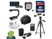 Must Have Accessory Kit for the Sony NEX-VG30 Camcorder Includes 32GB High-Speed Error-Free SD Memory Card + SD Card Reader + 58MM 3 Piece Pro Filter Kit (UV, C