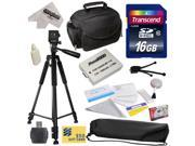 Best Value Accessory Kit for Canon HF R20 R21 R26 R27 R200 R205 R206 HFR20 HFR21 HFR26 HFR27 HFR200 HFR205 HFR206 Video Camera Camcorder Includes - 16GB High-Sp