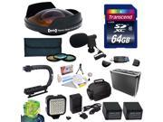 Special Edition All Sport Accessory Package for the Sony NEX-VG30 Camcorder Includes - 64GB High Speed Error Free SDHC Memory Card + 58MM Pro 3 Piece Filter Kit