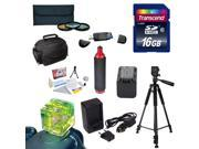 Best Value Accessory Kit for the Sony NEX-VG30 Camcorder Includes - 16GB High Speed Error Free SDHC Memory Card + SDHC Card Reader + 58MM 3 Piece Pro Filter Kit