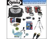 Opteka Digital Video Accessory Kit for the Canon Vixia HF R21 HF R20 AND HF R200 34mm Digital Camcorders