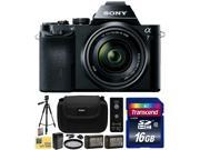 Sony a7K A7 Full-Frame DSLR 24.3 MP Interchangeable Digital Lens Camera FE 28-70mm f/3.5-5.6 OSS Lens with 16GB Memory Card + x2 NP-FW50 + Charger + Tripod + Carrying Case + Wireless Remote + $50 Card