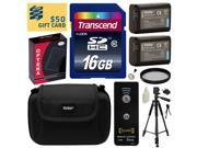 Beginner's Kit for Sony includes 16GB SDHC Memory Card, 2 NP-FW50 Battery, Charger with Car and European Adapter, Tripod, Case, Wireless Shutter, UV Filter, Ring Adapter, Cleaning Kit, $50 Gift Card