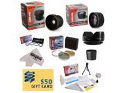 Nikon D100 D200 D300 D300S D700 D7000 D7100 D3000 D3100 D3200 D5000 D5100 D5200 D5300 D40 D40X D50 D60 D70 D90 D80 Ultimate 15 Piece lens Kit Package Includes 0