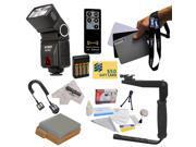 Bower SFD728 Autofocus TTL Flash Kit for The Canon EOS Rebel T2i T3i T4i T5i 550D 600D 650D 700D Kiss X4 X5 X6 X6i X7i DSLR Digital Camera includes Bower SFD728