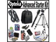 Advanced Starter Kit for the Canon EOS Rebel T2i T3i T4i T5i 550D 600D 650D 700D Kiss X4 X5 X6 X6i X7i DSLR Digital Camera Package includes: Professional Travel