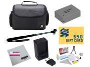 47th Street Photo Best Value Point & Shoot Accessory Starter Kit for Canon PowerShot G15 G16 G1X Digital Camera Includes Extended Replacement NB-10L Battery + A