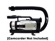 Opteka XGRIP-XL Large Professional Camera / Camcorder Action Stabilizing Handle with Accessory Shoe for Flash, Mic, or Video Light