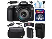 Canon EOS 60D DSLR SLR Digital Camera w/ EF-S 18-200mm Lens (8GB Value Bundle)