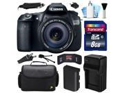 Canon EOS 60D DSLR SLR Digital Camera w/ EF-S 18-135mm Lens (8GB Value Bundle)