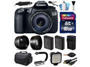 Canon EOS 60D SLR Digital Camera with 18-135mm IS Lens (16GB Essential Bundle)