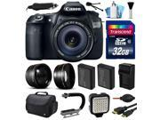 Canon EOS 60D SLR Digital Camera with 18-135mm IS Lens (32GB Essential Bundle)