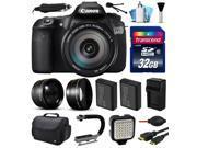 Canon EOS 60D SLR Digital Camera w/ EFS 18-200mm IS Lens (32GB Essential Bundle)
