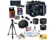 2 Replacement NB-10L For Canon PowerShot SX40 SX50 HS & G1 X, Charger, Deluxe Lens Cleaning Kit, LCD Screen Protectors, Mini Tripod, 47stphoto Microfiber Cloth, $50 Photo Print Gift Card!