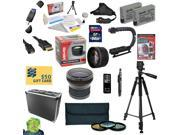 All Sport Kit for Canon Rebel T2i T3i T4i T5i DSLR Camera Includes 64GB SDXC Card + 2 Batteries + Dual Charger + 0.20X + 2.2x Lens + 3 Piece Filters + Hard Case + Tripod +X-GRIP + DVD + $50 Gift Card!